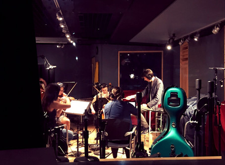 """BIZONE"" Original Score Recording Session"