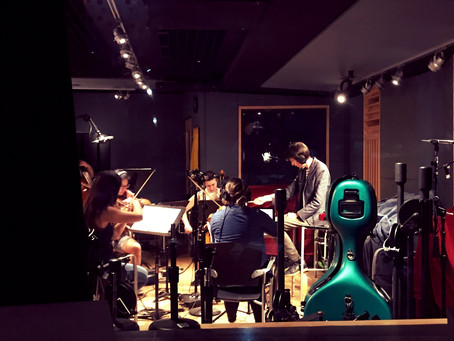 """BIZONE"" Original Score Recording Session"