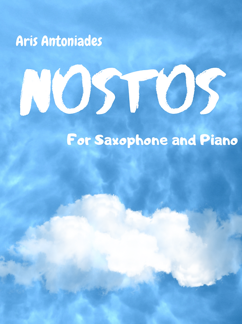 Nostos for Saxophone and Piano (score and parts)