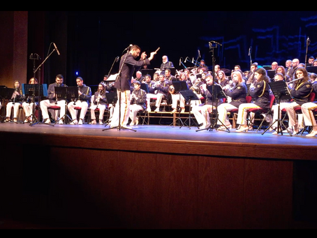 VIDEO: Guest Conducting Limassol Municipal Band's Holiday Concert