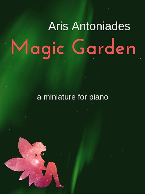 Magic Garden - A Miniature For Piano