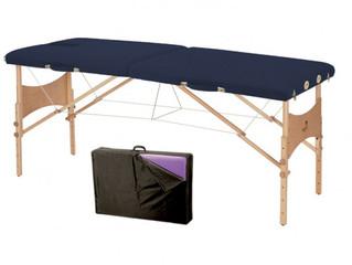 Rééducation à domicile? Augmentez la qualité de votre rééducation avec une table de massage pliante