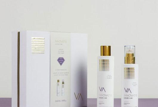 innovatis Kit Home Luxury Care Ice Shine Shmpoo-leave in spray
