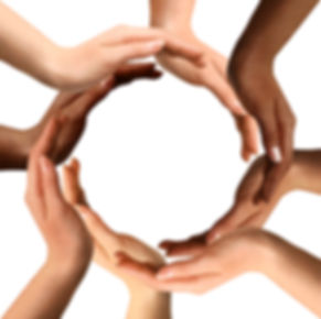 Hands in a circle, Community