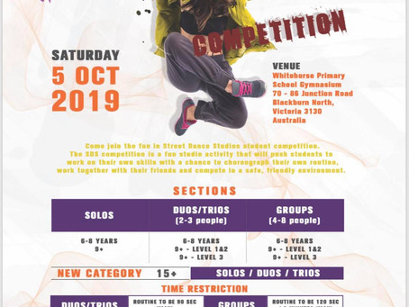 SDS HIP HOP COMPETITION 2019