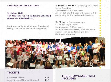 Registrations Open for Mid Year Showcase