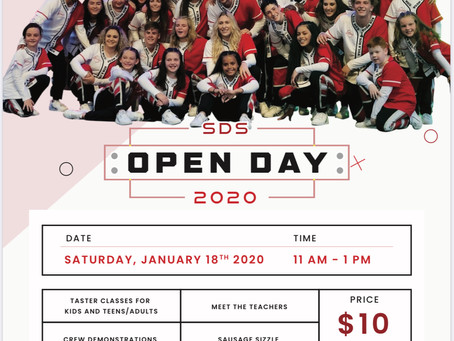 SDS 2020 OPEN DAY