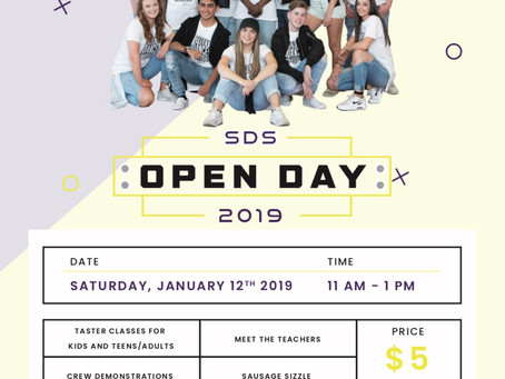 SDS OPEN DAY 2019