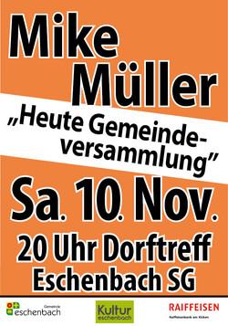 Plakat Dorf_181110 7xEschenbach