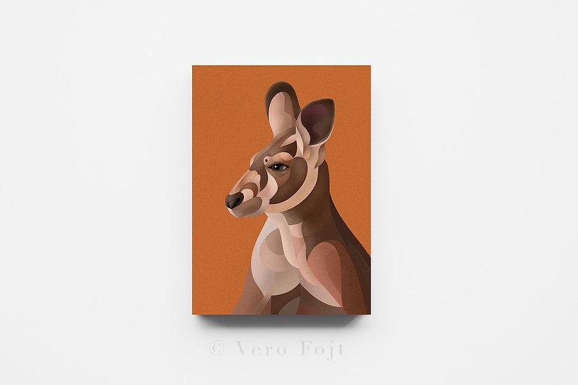 Kangaroo Mosaic