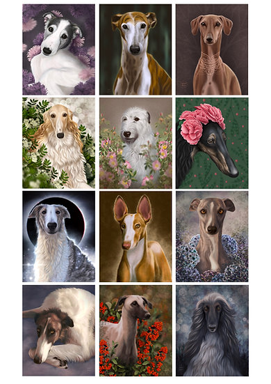 Digital custom Pet Portrait  - Single Pet