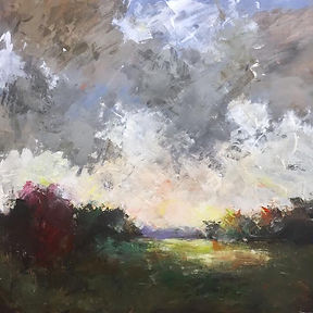 Evening Storm (36 x 36)