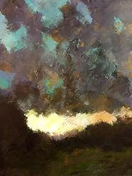 Falling Light (24x30)