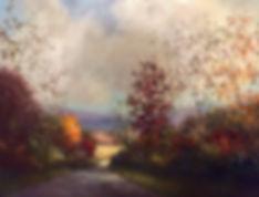 Maryville, Tn. Autumn valley painting