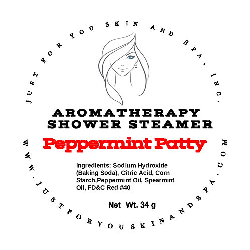 Peppermint Patty Aromatherapy Shower Steamer