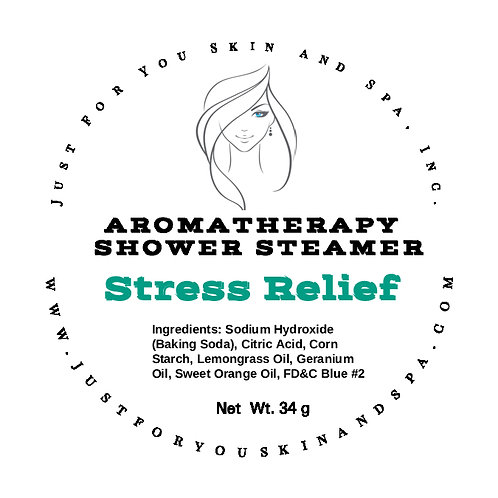 Stress Relief Aromatherapy Shower Steamer