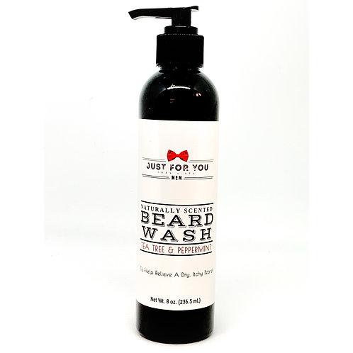 Tea Tree & Peppermint Beard Wash