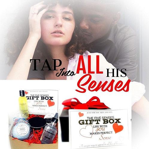 The Five Senses Gift Box For Men