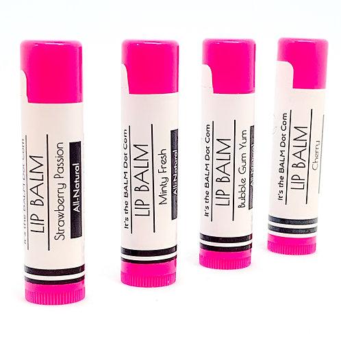 Natural Lip Balm Variety Pack
