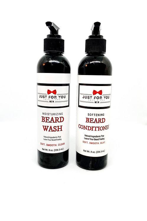 Beard Wash & Conditioner Set