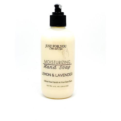 Lemon & Lavender Moisturizing Hand Soap