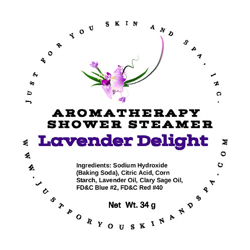 Lavender Delight Aromatherapy Shower Steamers