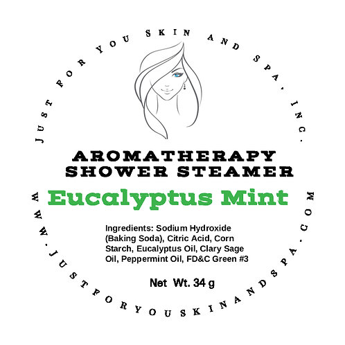 Eucalyptus Mint Aromatherapy Shower Steamers
