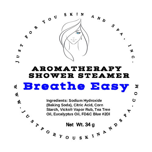 Breath Easy Aromatherapy Shower Steamers