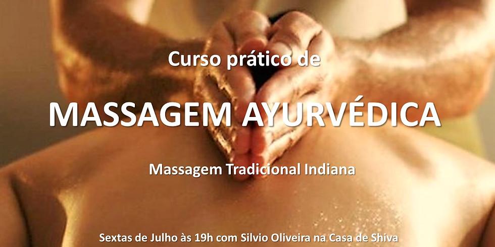 Curso de Massagem Indiana