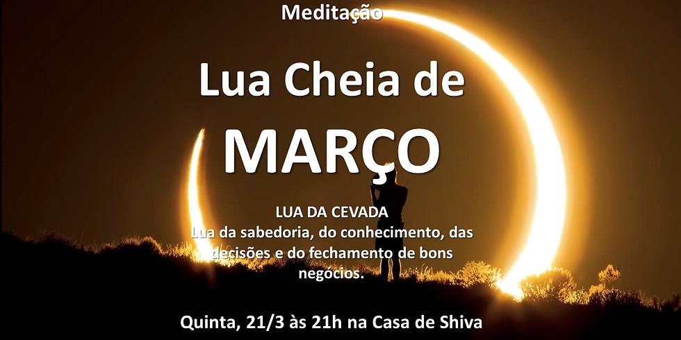 Meditação da Lua Cheia de Março
