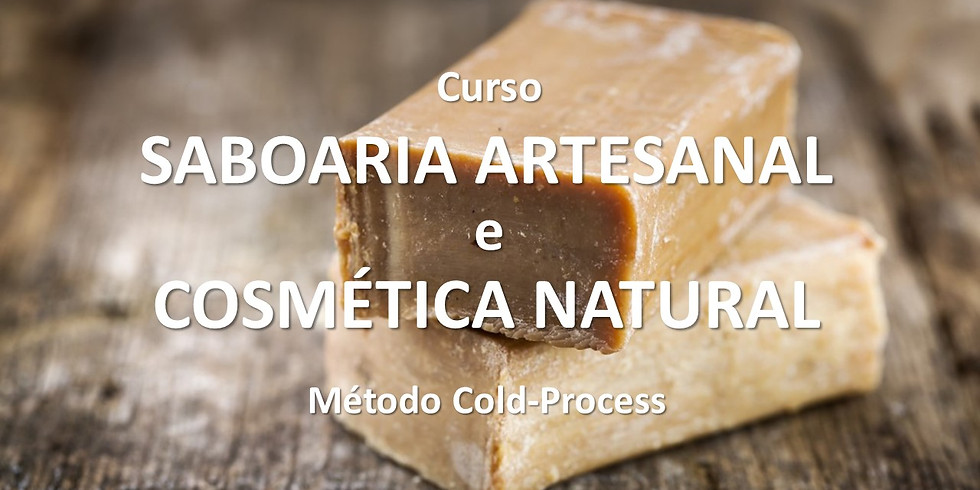 Curso de Saboaria Artesanal e Cosmética Natural