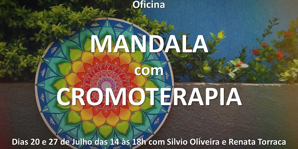 Oficina de Mandala com Cromoterapia