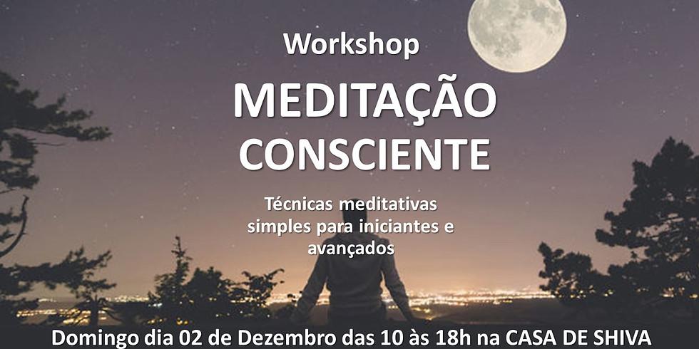 Workshop de Meditação Consciente