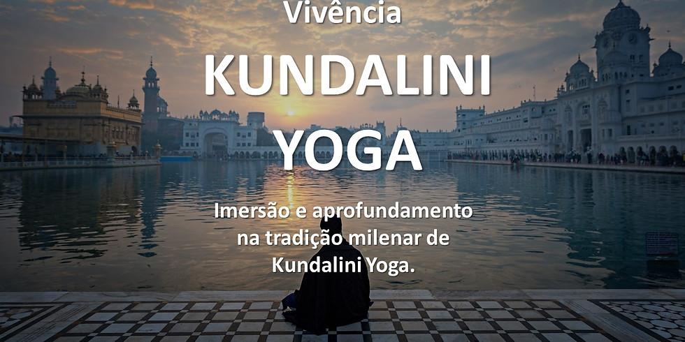 Vivência de Yoga Kundalini
