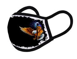 """Grange Black Face Mask """"Eagle"""""""