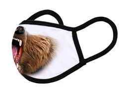 """White Face Mask """"Bear mouth"""""""