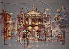 Lviv Opera House painting