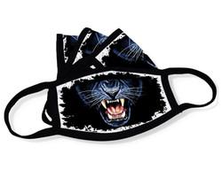 "Grange Black Face Mask ""Panther mouth"""