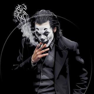 Joker (white&black)