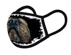"Grange Black Face Mask ""Bulldog mouth 02"""