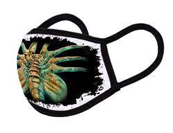 "Grange Black Face Mask ""Alien spider"""