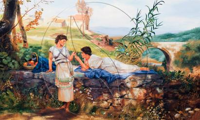 Copy artwork of Henryk Siemiradzki - Talisman