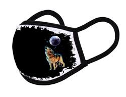 "Grange Black Face Mask ""Wolf"""