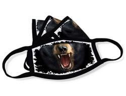 "Grange Black Face Mask ""Black bear mouth"""