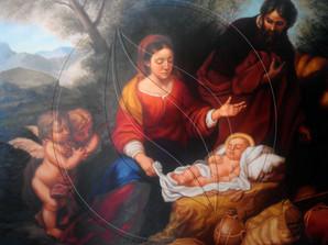 """""""Huida a Egipto"""" Copy Artwork of Bartolomé Esteban Murillo"""