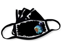 """Grange Black Face Mask """"Indian"""""""