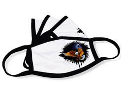 """White Face Mask """"Eagle"""""""
