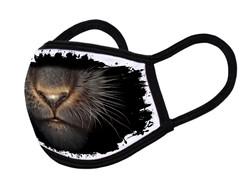 "Grange Black Face Mask ""Panther mouth 02"""