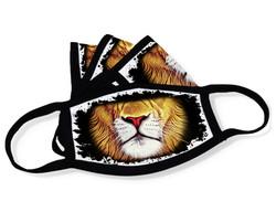 """Grange Black Face Mask """"Lion mouth"""""""