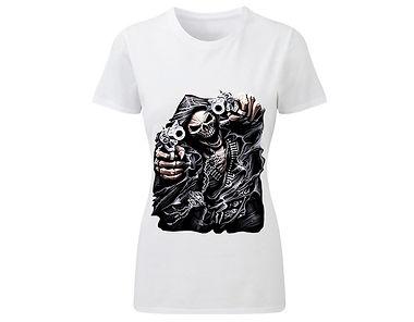 T-Shirt «Gangster skeleton»